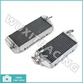 Left Right New Aluminium Cores MX Offroad Motorcycle Radiators Cooling X2 fit for Kawasaki KX 450 F KXF 450 06 07