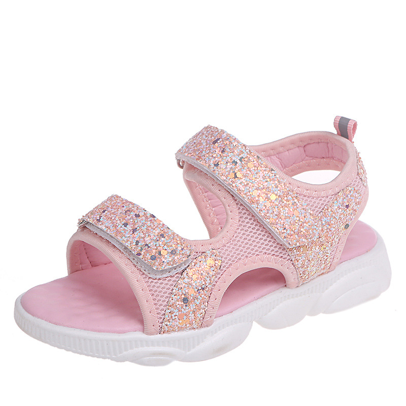 Baby comfortable sandals 2019 summer new Boys Girl Non-slip Kids Beach Sandal kids casual sandals children Glitter sport sandalsBaby comfortable sandals 2019 summer new Boys Girl Non-slip Kids Beach Sandal kids casual sandals children Glitter sport sandals