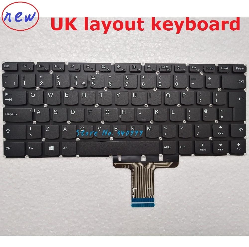 Laptop Keyboard For Lenovo 510S-14ISK Yoga 510-14AST 710-14ISK 710-15ISK UK KEYBOARD