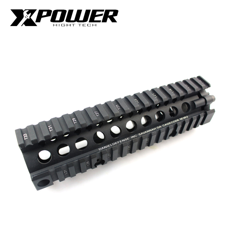 XPOWER Paintball 7'Rail System MK18 Handguard For AR AEG Airsoft M4A1 Paintball CS Outdoor Sports Receiver Gearbox