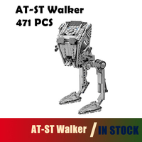 Compatible With Lego 05066 Star Wars Series The AT ST Walker Model Building Blocks Set Classic