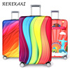 Thickening elastic cloth suitcase
