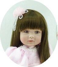 Muñeca reborn  Colección limitada de 60 cm con vestido rosa