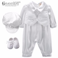 Gooulfi Baptism Baby Clothes Toddler Baptism Decoration Ideas Party Baptism Clothing For Infant Baby Boys Outfits