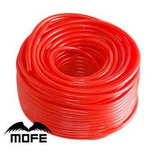 7,17 Mofe красный/синий/черный армированный силиконовый вакуумный шланг, силиконовая трубка для автомобиля 5 метров 3 мм/4 мм/6 мм/8 мм