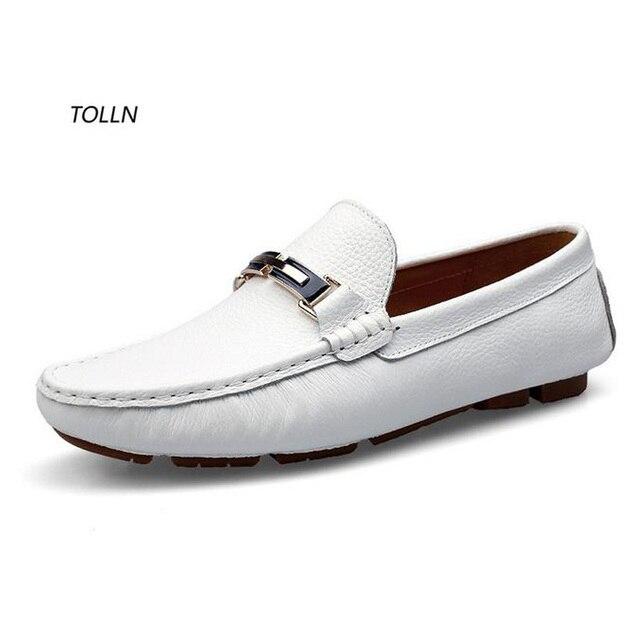 2016 новый дышащий повседневная обувь высокого качества кожа бизнес обувь удобная плоская обувь мужская обувь для вождения мода Италия