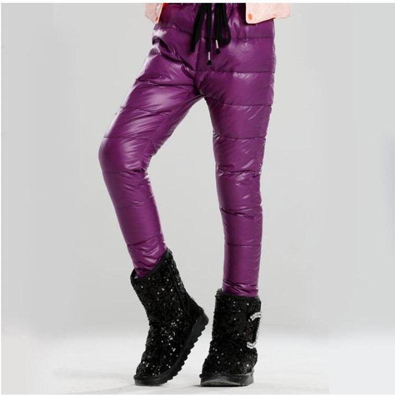 Детские зимние штаны Леггинсы для маленьких девочек утка вниз Непромокаемые штаны Pantalon Enfant для маленьких девочек вещи одежда
