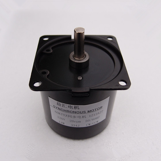цена на 60KTYZ Reduction Motor 5RPM Low Noise Gear box Electric Motor High Torque Low Speed 220v Synchronous AC Motor