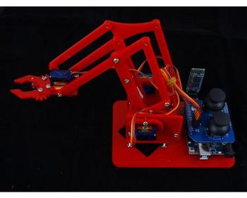 MeArm robotic arm learning kit DIY MeArm.Joystick educational desktop robot arm kit bluetooth
