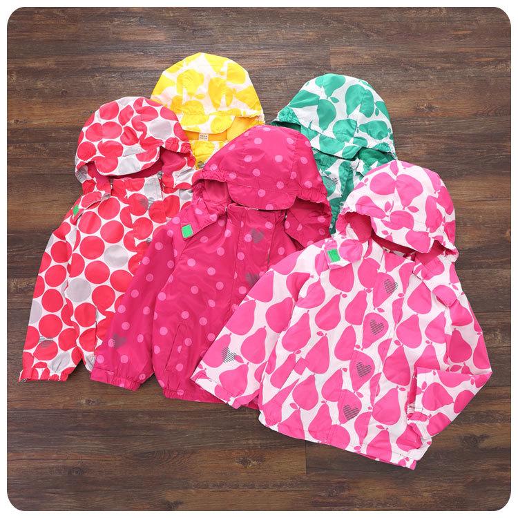 ₩2016 otoño nuevo patrón coreano niños ropa niña bebé pera punto ...