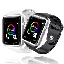 Купить с кэшбэком A1 Smart Watch Bluetooth Dial/Answer TF SIM Card Camera Fitnesse Tracker sleep Monitor Bracelet For Android IOS Xiaomi HUAWEI