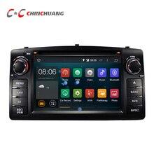 Aktualizacja Android 5.1.1 Quad Core dla BYD F3 Toyota Corolla E120 samochód DVD GPS z Radiem BT 3G Wifi USB DVR, System Audio Wideo