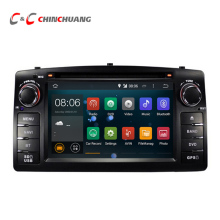 Обновление Android 5.1.1 Quad Core для BYD F3 Toyota Corolla E120 автомобиль DVD GPS с Радио 3 Г USB Wi-Fi BT DVR, аудио Видео Системы