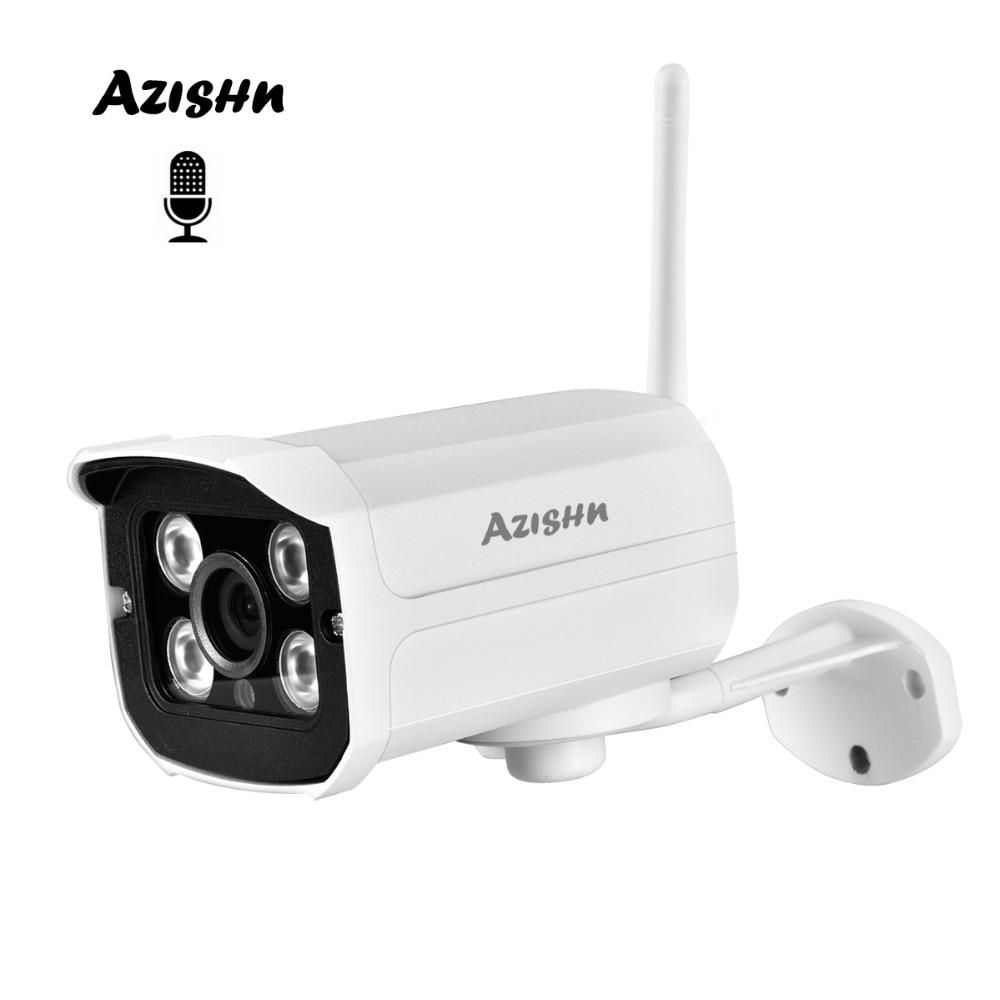 AZISHN MINI 720P 1080P WIFI IP Camera Audio Waterproof HD Network 1.0MP wifi camera nignt vision Outdoor wireless camera Yoosee