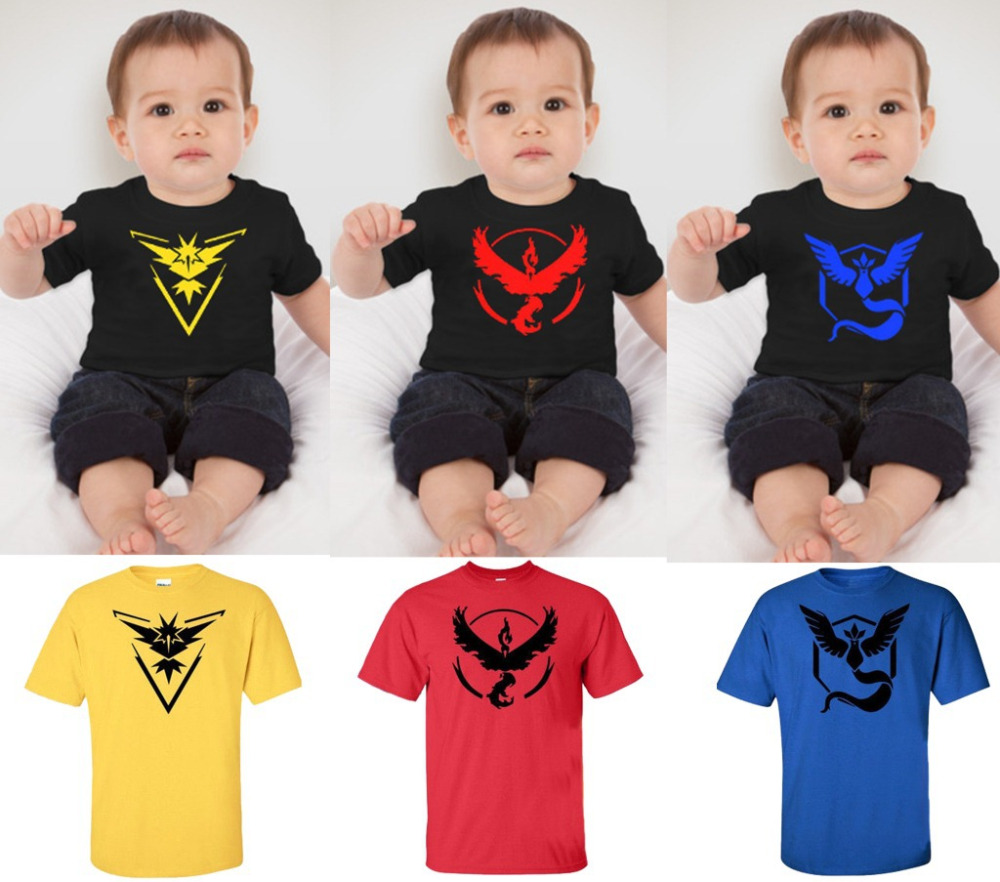 Baby Kid Unisex Pokemon  Cosplay T Shirt Summer Short Sleeves Tee Halloween Cosplay Costumes Daily Baby Kid Top
