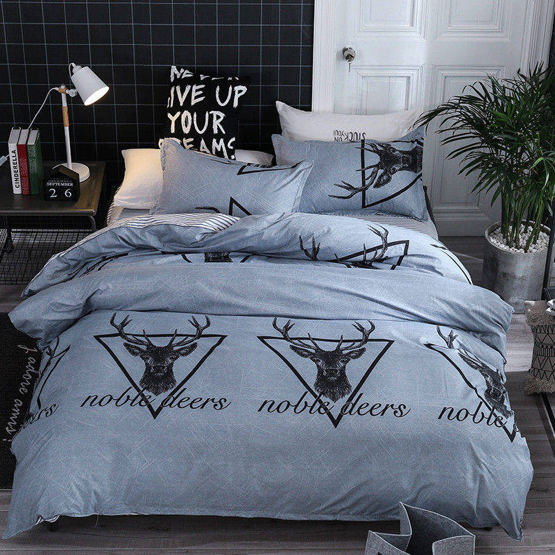 2019 hot new products Duvet Four-Piece Duvet, Pillowcase Polar Deer Full Size Low price household products2019 hot new products Duvet Four-Piece Duvet, Pillowcase Polar Deer Full Size Low price household products