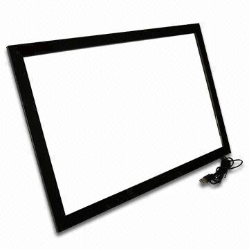 Xintai Touch 48 inch USB IR touch screen frame,good multitouch screen overlay kit 10 points touch frame, plug and play 15 inch usb capacitive touch screen with controller 10 points touch win7 win10 plug and play
