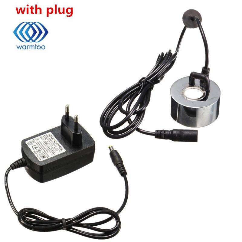 Avec L'UE Plug/Pas de Plug 45mm DC 24 V Ultrasons humidificateur Mist Maker Fogger Fontaine D'eau Étang Atomiseur Tête Air humidificateur