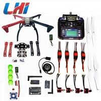 DIY LHI F450 Quadcopter комплект APM2.8 каркас Вертолет стойки APM2.6 и 6 м 7 м N8M gps бесщеточным Мотором