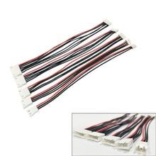 5 шт./лот JST-XH 1S 2S 3S 4S 5S 6S 20 см 22AWG Lipo Баланс провода удлинитель заряженный кабель Шнур для RC Lipo зарядное устройство