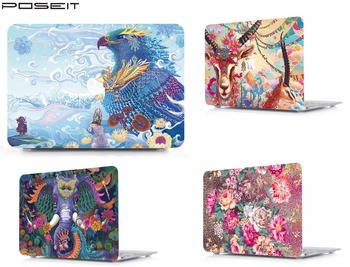 цена на Laptop Tablet Hard Shell Case Keyboard Cover Skin Bag For 13 15Release 2018 New Macbook Pro Touch Bar A1989/A1990 Air 11 13 HK