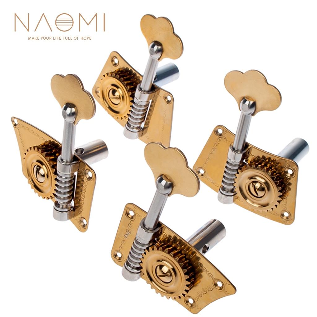 NAOMI 4 4 3 4 Double Bass Single Machine Brass Single Machine Heads For 4 4