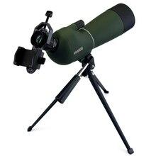 SV28 50/60/70mm Spotting Scope Zoom Telescope Waterproof Birdwatch Hunting Monocular & Universal Phone Adapter MountF9308 цена