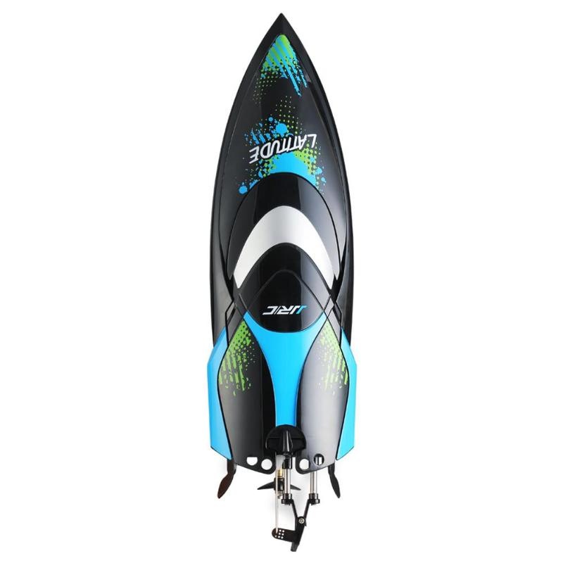 JJRC S3 2.4G RC Boat 150m Remote Control Racing Speedboat Air Ship Toy High Speed Racing Remote Control Boat with LCD
