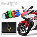 For Yamaha YZF R3 R25 2014 2015 2016 Motorcycle CNC Kickstand Side Stand Extension Enlarger Pad Plate Foot Support Baseplate New