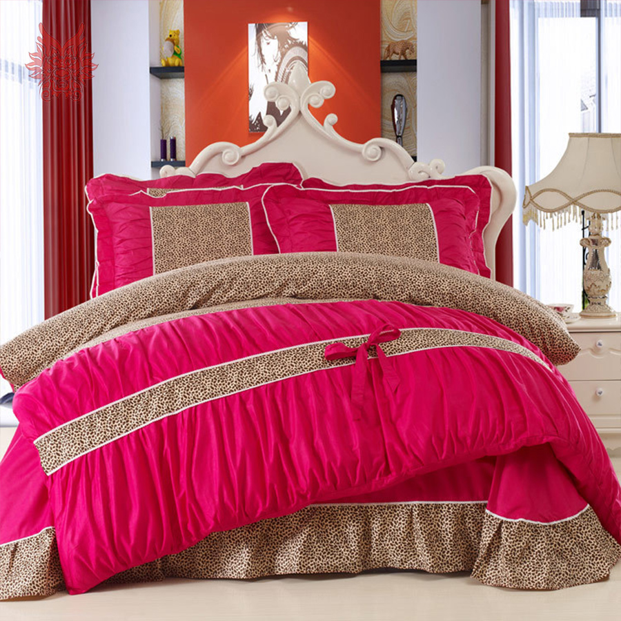 Online Buy Wholesale Leopard Print Comforter Set From