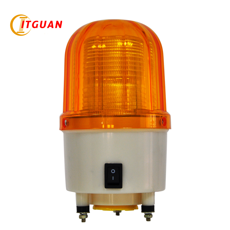 TGSG-150 Portable sound and light warning light 3w led bulb with buzzer sound 115dB bolt bottom