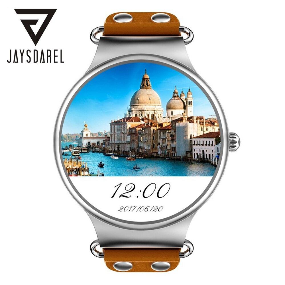 JAYSDAREL KW98 Android 5.1 Heart Rate Monitor Smart Watch <font><b>Phone</b></font> 1.39 Inch <font><b>AMOLED</b></font> HD WiFi GPS Smart Wristwatch for Android iOS