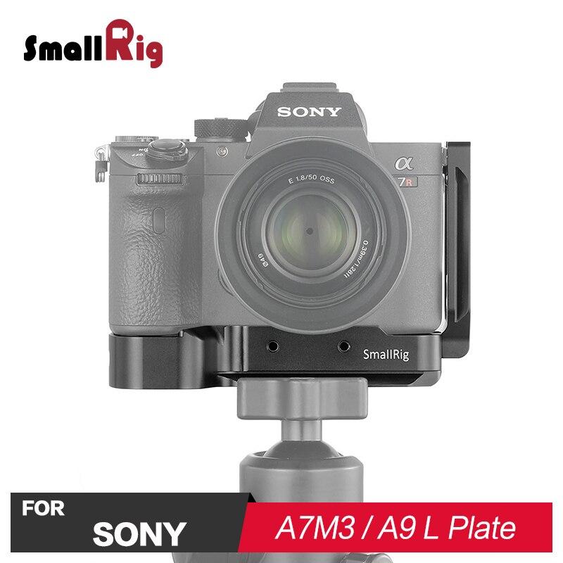 SmallRig A7R3 L Plaque W/Arca Style Plaque pour Sony A7M3 Caméra Quick Release W/1/4 & M4 fil Troué fr flash Lumière Joindre 2122
