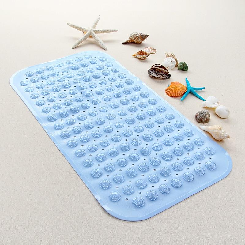 Anti Slip Bath Mat Tub&Shower Bathroom Safety Latex&PVC Free Natural Rubber Tasteless ma ...