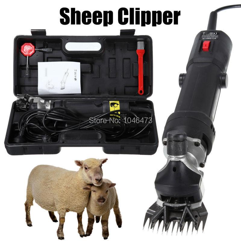 все цены на (ship from US) 320W 110V Electric Farm shears Sheep Alpaca Goats wool shearing Clipper Machine Low Noise онлайн