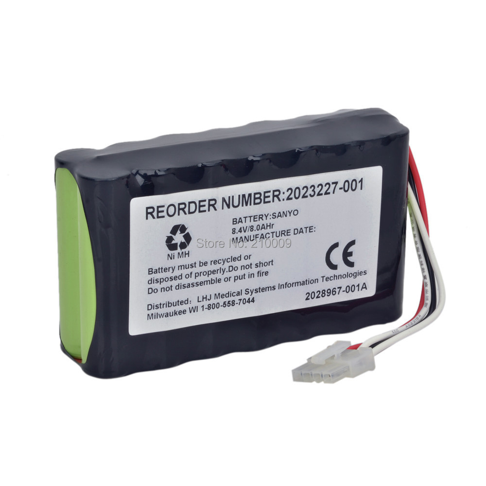 ECG Battery Replacement FOR ASH2500,2023852-029,N1082,AMED2250,2023227-001 High Quality Medical battery 100%NEW,1year мыло жидкое алоэ 500 мл