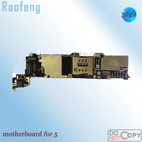 Raofeng 32GB Unlocked with chips for iphone 5 motherboard Disassembled   mainboard test one by one good work before ship|Mobile Phone Motherboards|Cellphones & Telecommunications -