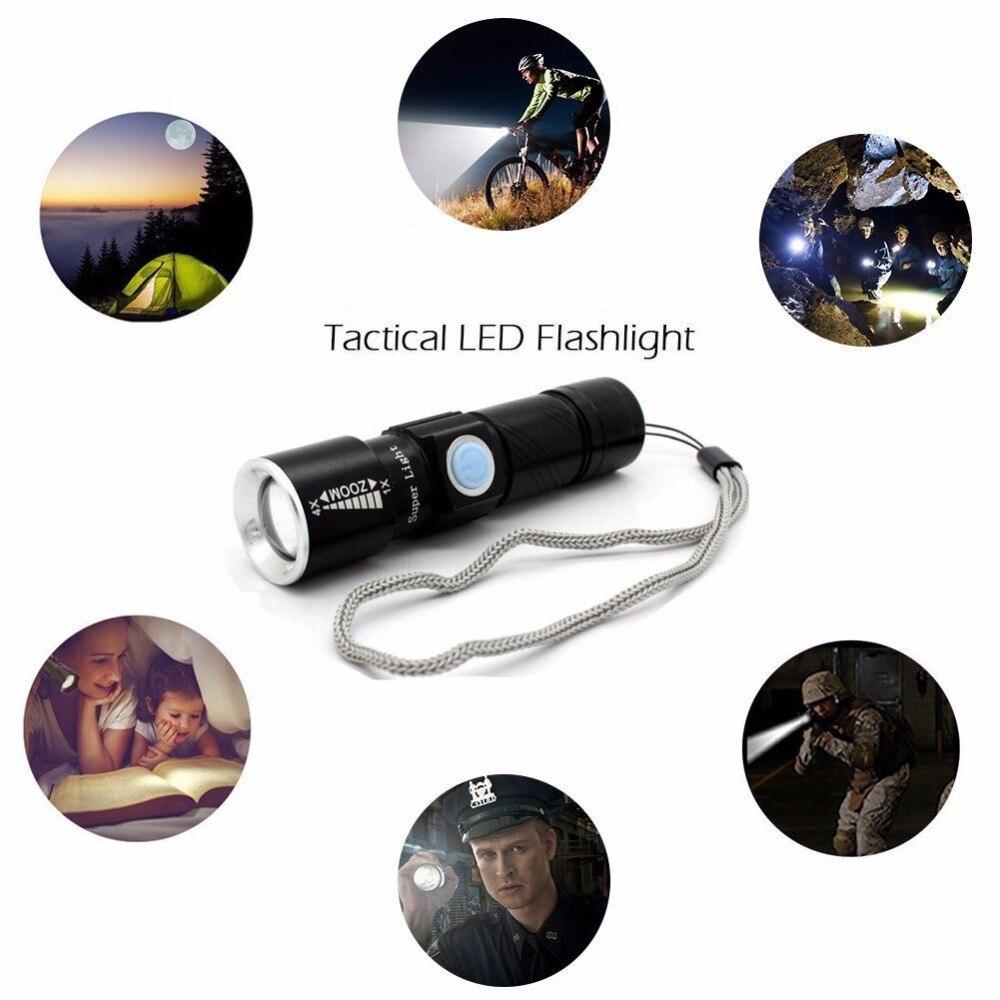 Lanternas e Lanternas led zoomable para caça preto Marca : Free_on