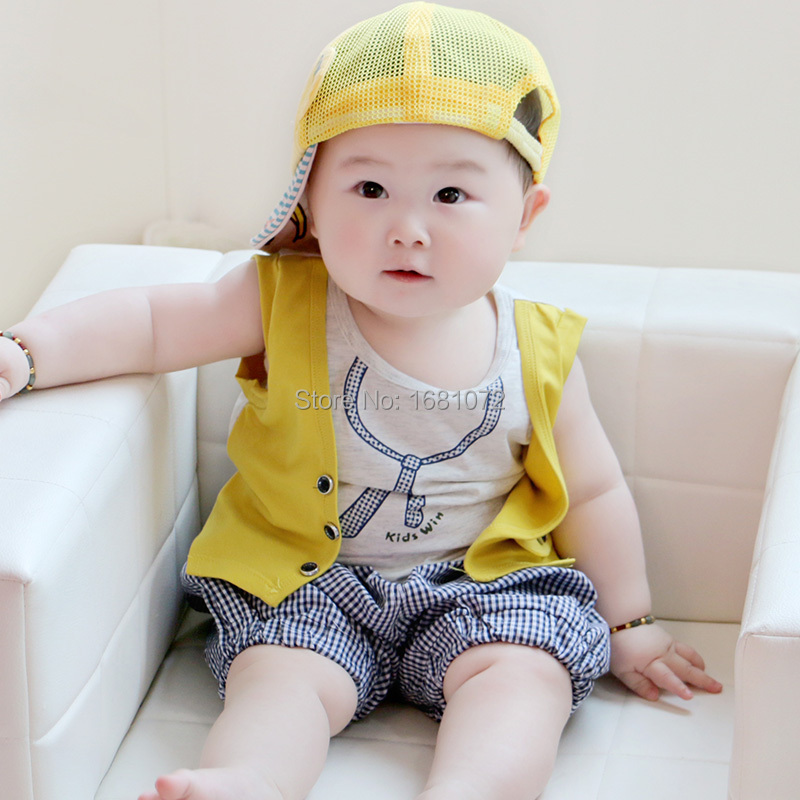 40824b563d72 6 12 months old infant clothes summer 0 1 year old baby boy set 1 2 years  old children s clothing baby clothes-in Clothing Sets from Mother   Kids on  ...