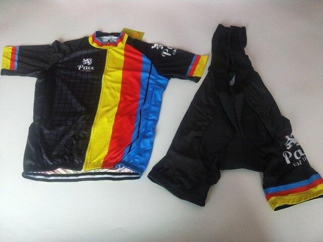 2018 Belgium flander Pro Team Short Sleeve men Cycling Jersey Set Bike  Shorts SET MTB Ropa Ciclismo Riding Wear Bicycle Clothes 543b2088b