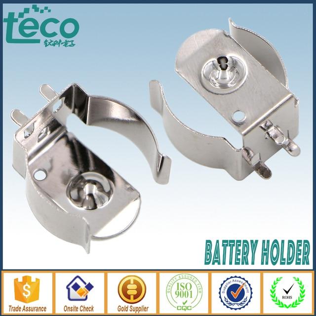 10 шт./лот 18650 Батарея зажим для 18650 CR123A Батарея Рессорная сталь TBH-18650-CLIP01