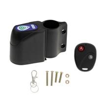 Wireless Remote Control Bike Alarm Siren Shock Vibration Sensor Cycling Lock Guard Burglar Alarm Bicycle Accessories цена
