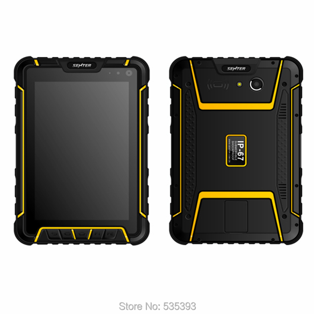 "Android Rugged Waterproof Tablet PDA PC Barcode Scanner Handheld Scanners 7 "" Qualcomm 4G LTE UHF Fingerprint Reader GPS"