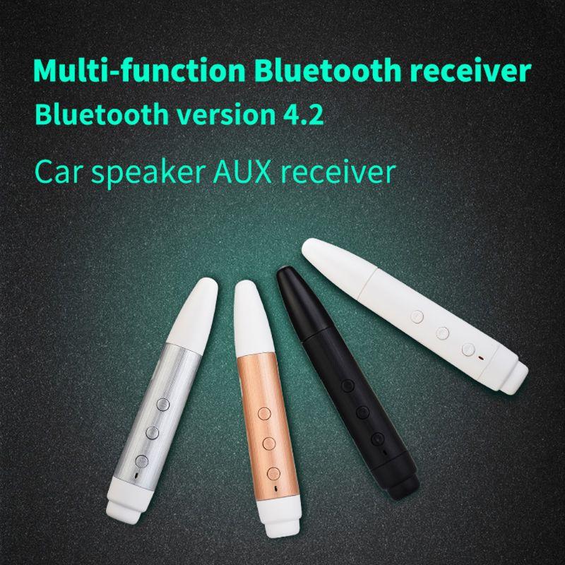Unterhaltungselektronik Bescheiden Audio Bluetooth Empfänger Drahtlose 3,5mm Tf Karte Spielen Mp3 Player Hände-freies Für Auto Aux Kopfhörer Kopfhörer Lautsprecher So Effektiv Wie Eine Fee