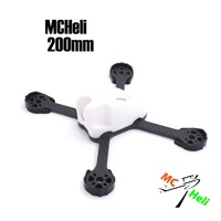 MCHeli T700SC Carbon Fiber 200 200mm Stretch X 5mm Board With PC Shell Frame Kit For