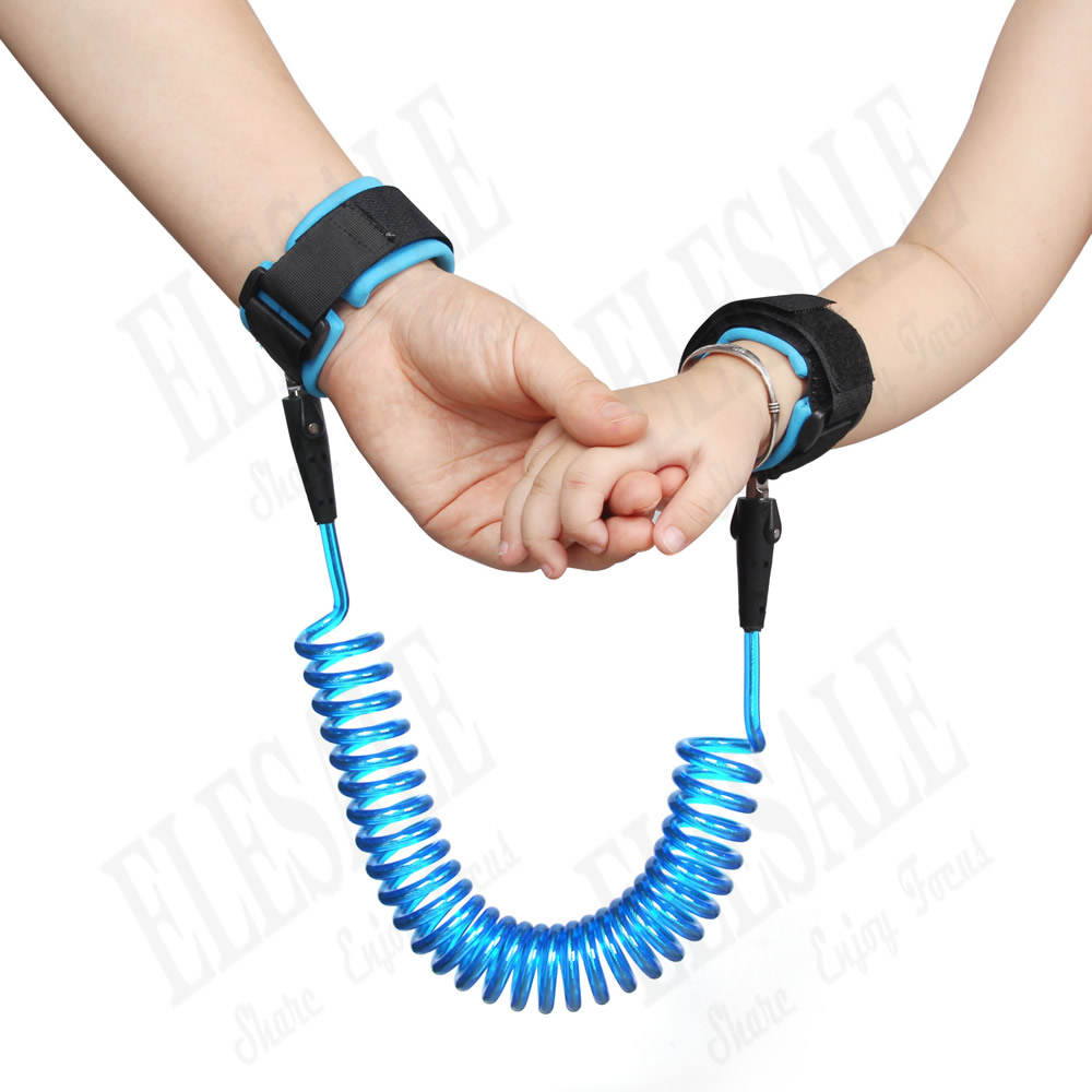 New Kids Safety Harness Child Anti-lost Wrist Band Extensible Children Belt Walking Assistant Stainless Steel Wire 1.5m new professional safety rock tree climbing rappelling harness seat sitting bust belt safety harness