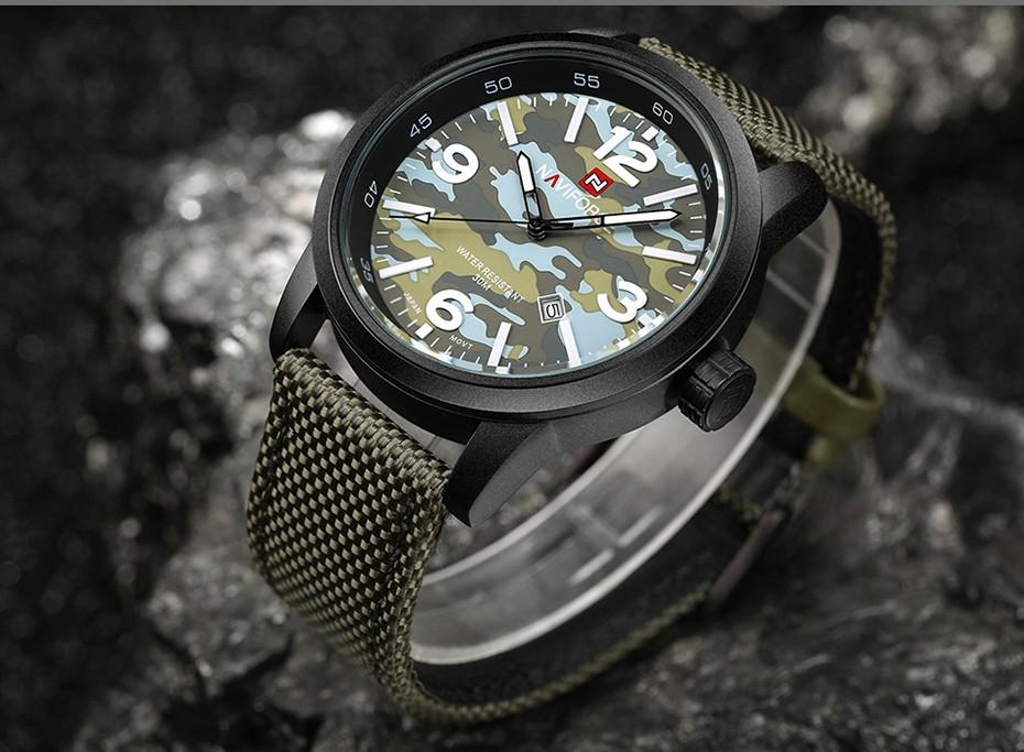 2017 Nouveau NAVIFORCE Hommes Quartz Sport Militaire Montres Hommes De Luxe de Marque De Mode Casual Montre-Bracelet Relogio Masculino Homme Horloge 11