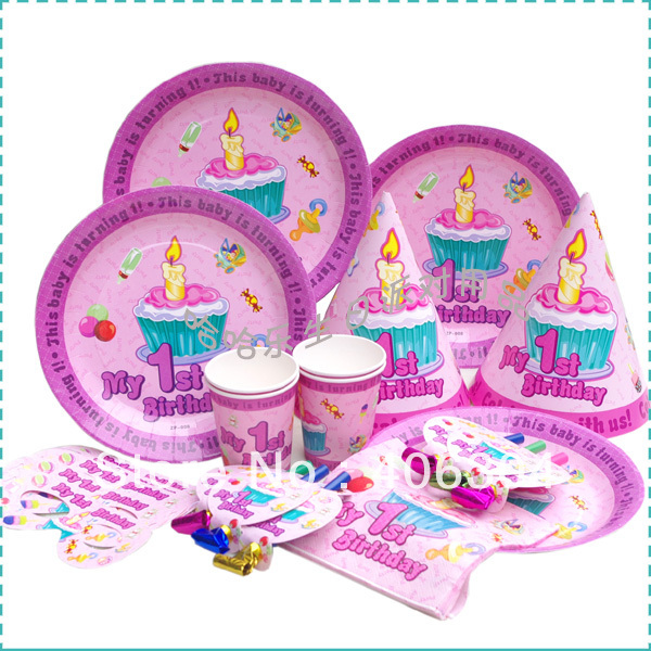 Free shipping birthday party kit invitation card greeting card