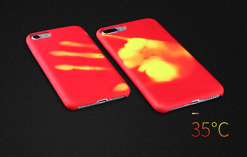 30pcs Physical Thermal Sensor Discoloration Case For iPhone 11 Pro Max XS XR X 8 7 6 6S Plus 5 5S Sensitive Color Change Cover    3