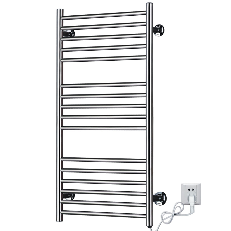 Hot Sale Heated Towel Rail  Stainless Steel Electric Wall Mounted Towel Warmer Riwa Dryer  Bathroom Accessories Towel Racks. Bathroom Heated Towel Rack Reviews   Online Shopping Bathroom